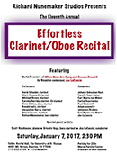 UST Woodwind Ensemble Recital
