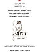 Houston Composers Allilance