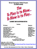 To Play is to blow